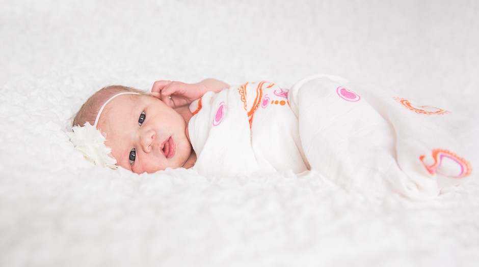 Meet Baby Haven Rose | Eagle River Newborn Photographer | Marilyn Jeffers Photography