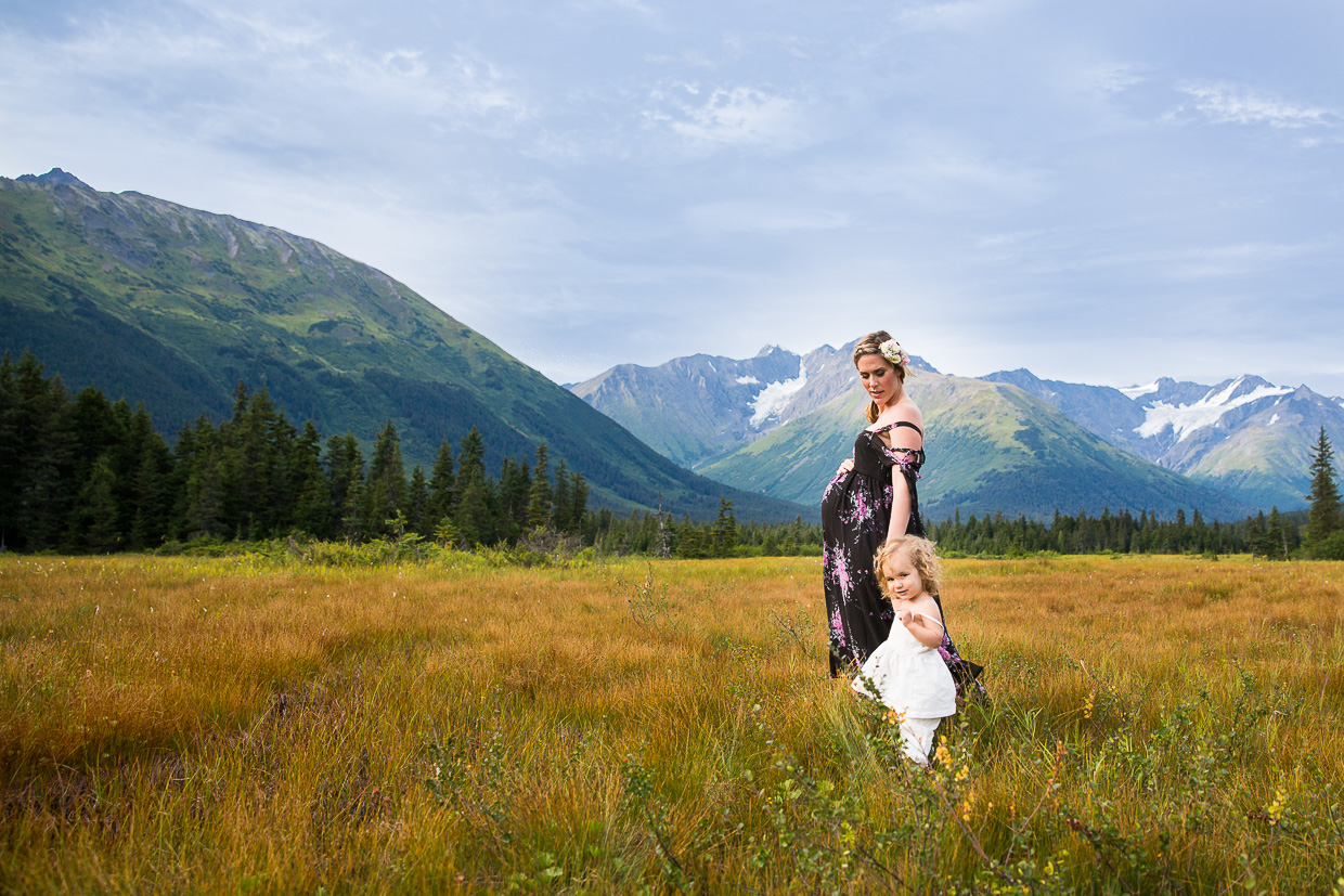 Anchorage Maternity Photography