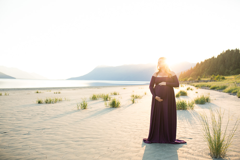 Girdwood Maternity Photos
