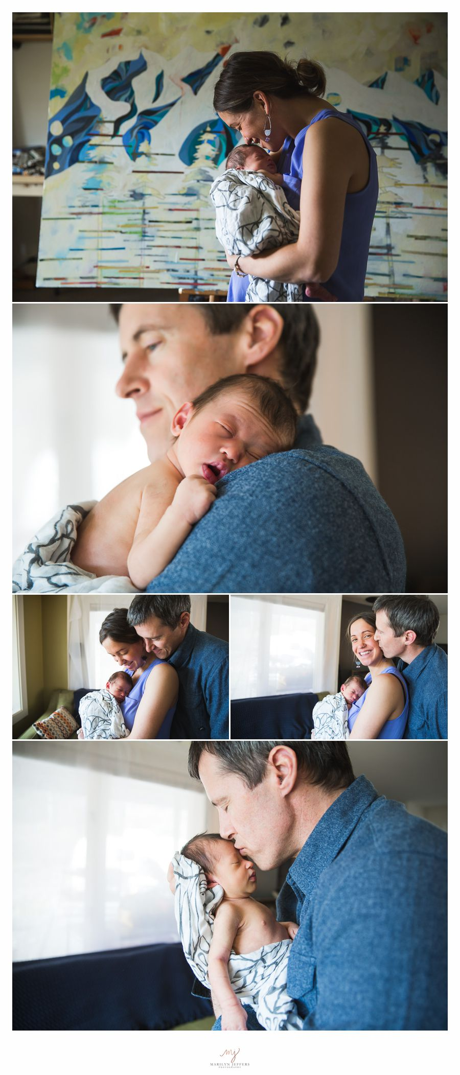 Newborn Photographer Girdwood Alaska